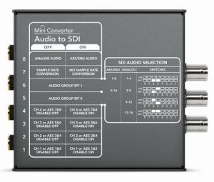 【新品】Blackmagic Design 放送用コンバーター Mini Converter Audio to SDI